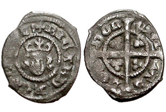 Richard II Farthing - 1d without neck